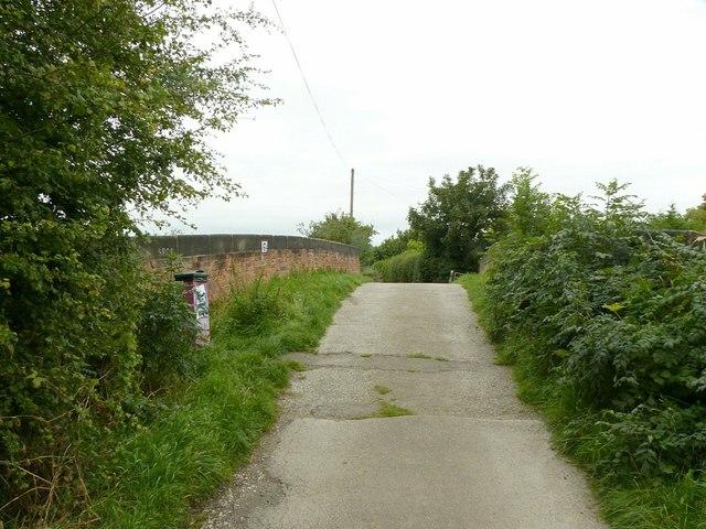 Potter's Lane bridge, Draycott