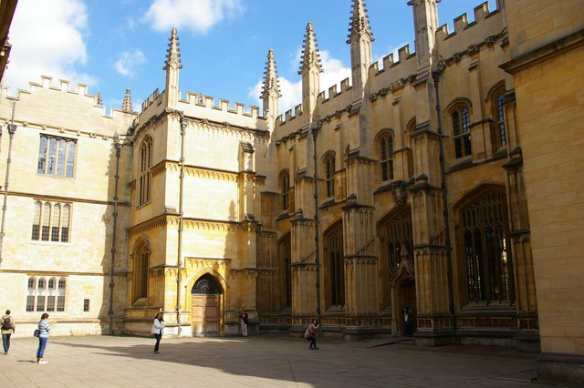 Bodleian Library buildings, Oxford