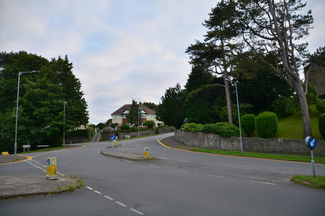 The Mumbles : Langland Road B4593