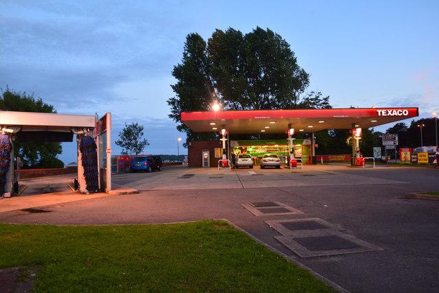 The Mumbles : Texaco Petrol Station