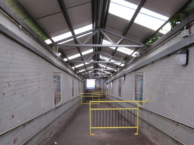 Access corridor at Seaforth and Litherland Station