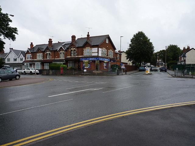 Corner shop in Stockland Green