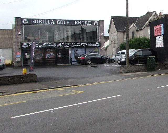 Gorilla Golf Centre, Newport