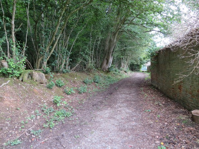 Footpath by The Coach House