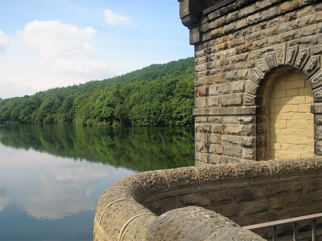Linacre Reservoir near Chesterfield