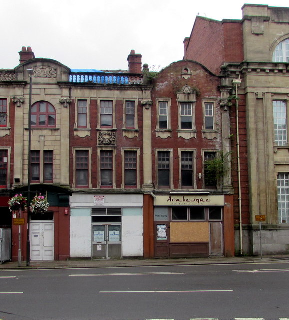 Arabesque, Clarence Place, Newport