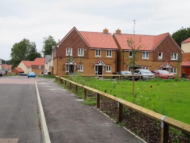 New builds - Longwood Copse Lane