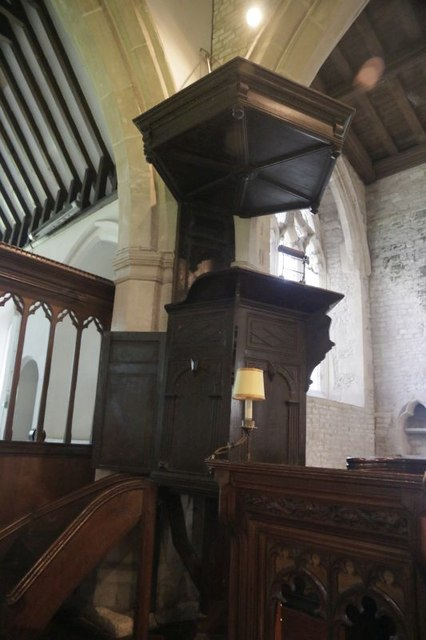 Pulpit & sounding Board