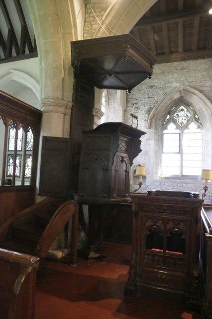 Pulpit & Prayer Desk