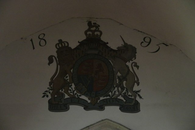 Coat of Arms over the Chancel