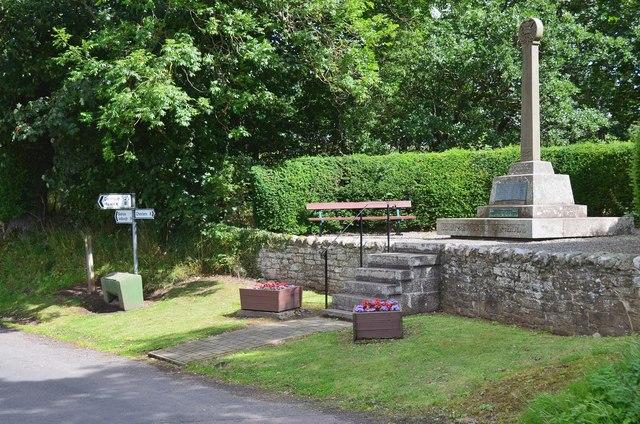 War memorial, Bedrule