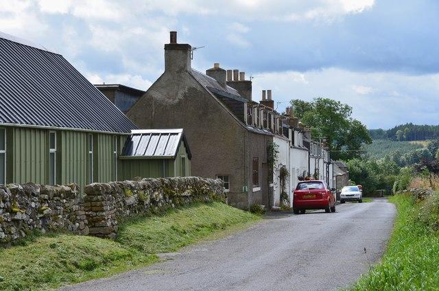 Bedrule village