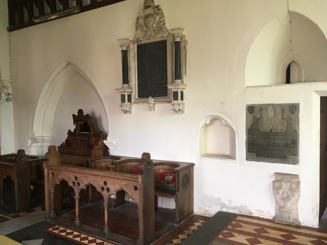 Stall in the Chancel