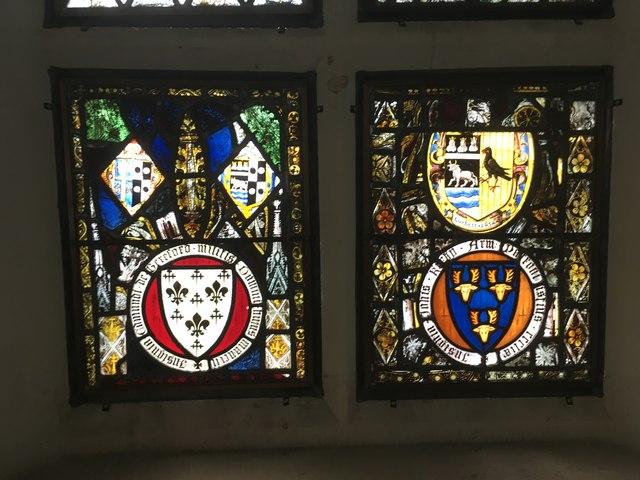 Window in the Chancel Detail 2