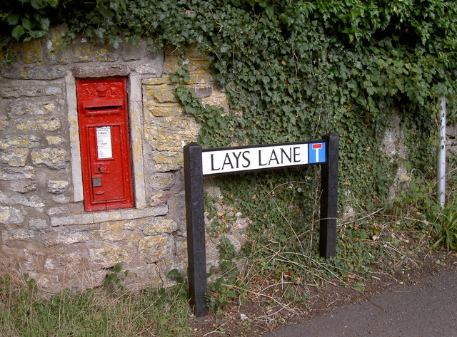 Victorian postbox in Lays Lane