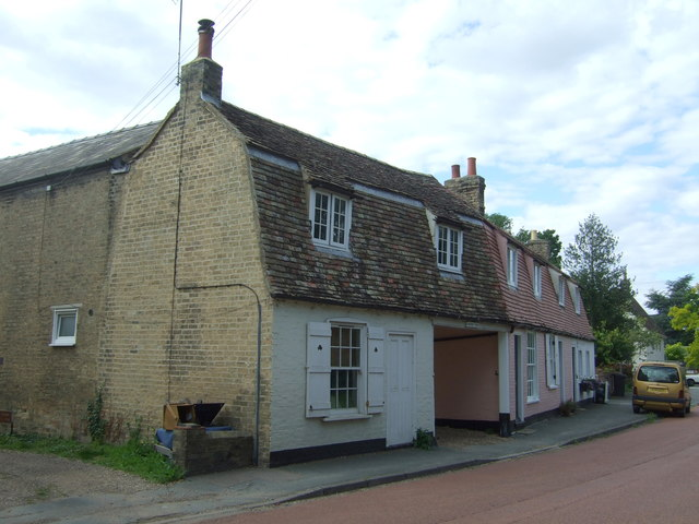 Cottages on High Street, Horningsea