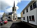 G7176 : Car park along Church Road, Killybegs by Kenneth  Allen