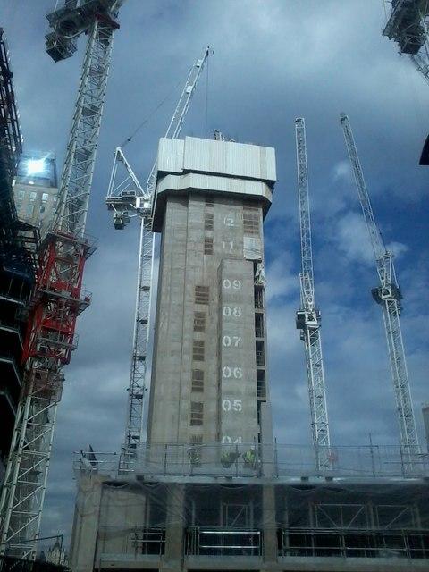 Lift shaft tower