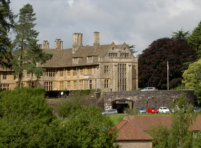Coombe Lodge from Menlea