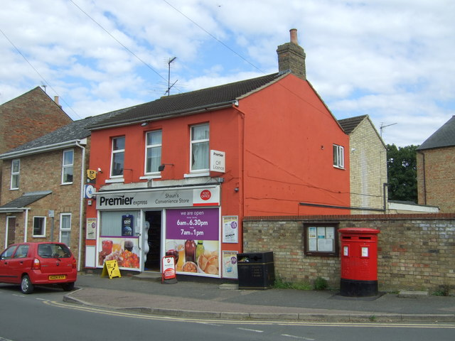 Convenience store and Post Office on High Street, Cottenham