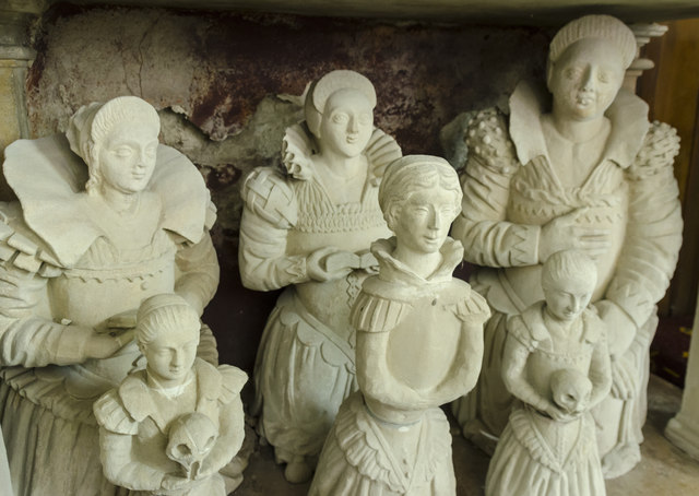 Cartwright girls, Church of the Holy Rood, Ossington