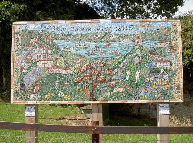 Blagdon Community mosaic