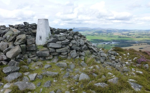 Trig point on Tosson Hill