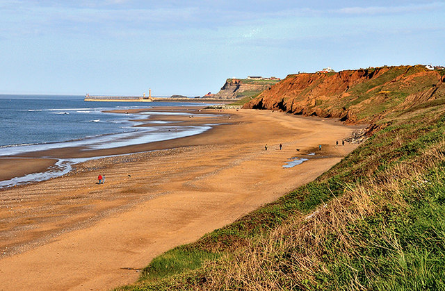 Sandsend Beach and Cliffs