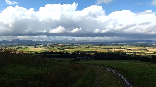 View over the Carse of Stirling