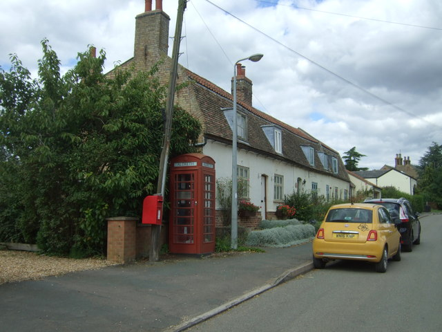 Houses on High Street, Aldreth