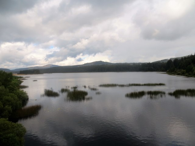 Stroan Loch from the viaduct