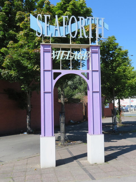 Seaforth Village Sign