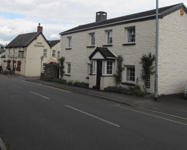 Crickhowell Road house near the Corn Exchange, Gilwern