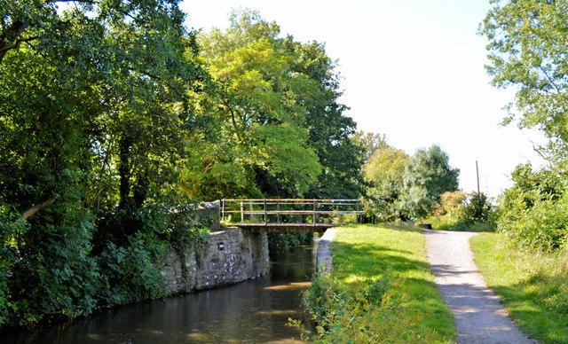 Humphrey's Bridge, (No 100), Mon and Brec canal
