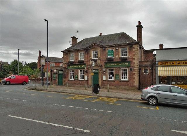 """The Crown Inn"". Stanwix, Carlisle"