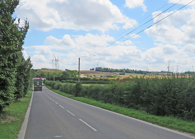 Nearing Camgrain on Mill Road