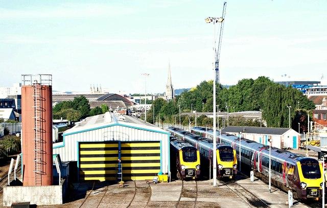 Arriva Train Care Depot, St Philips, Bristol 2