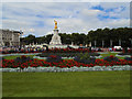 TQ2979 : Flowerbeds near St James's Park by Paul Gillett