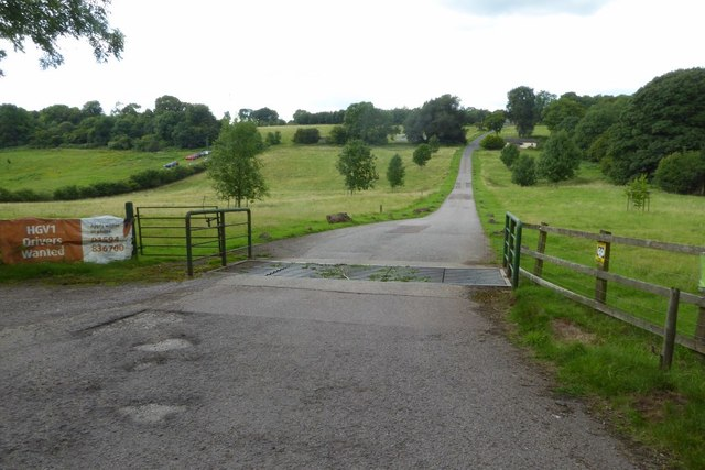 Entrance to Clearwell Farm
