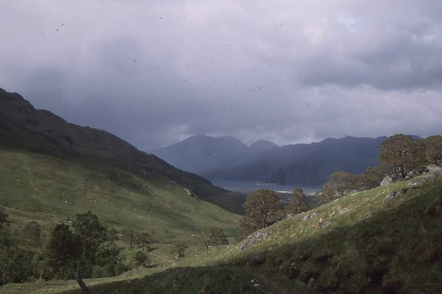 Glen Unndalain path