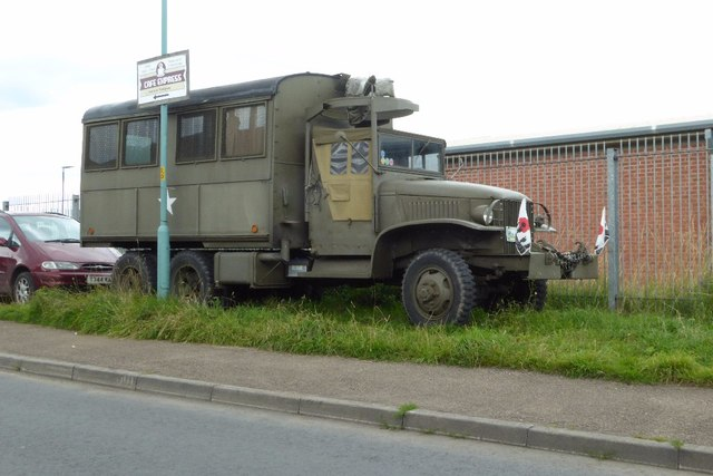 US military vehicle