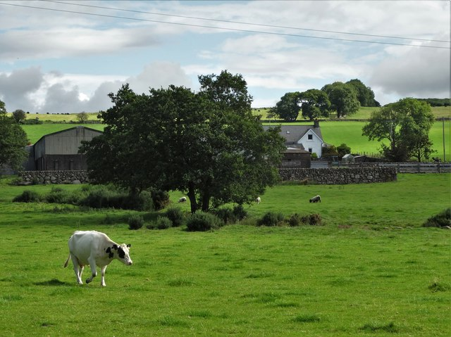 A view of Martingirth Farm