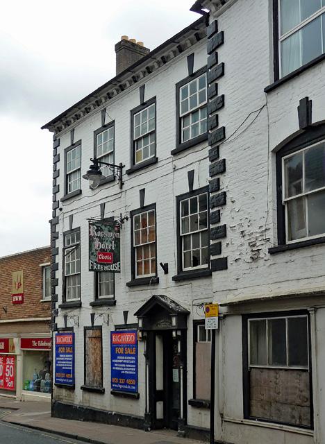Former pub, Ross-on-Wye