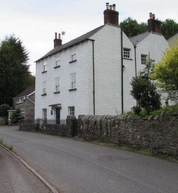 Grade II listed Crown Lodge, Forge Road, Tintern