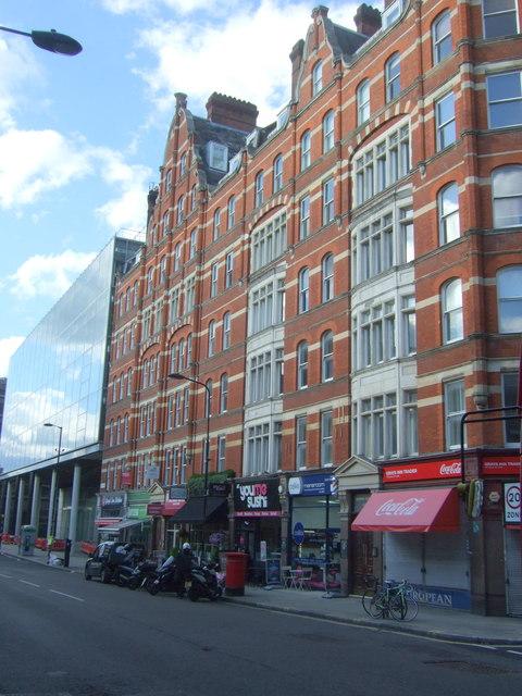 Shops on Gray's Inn Road, London WC1
