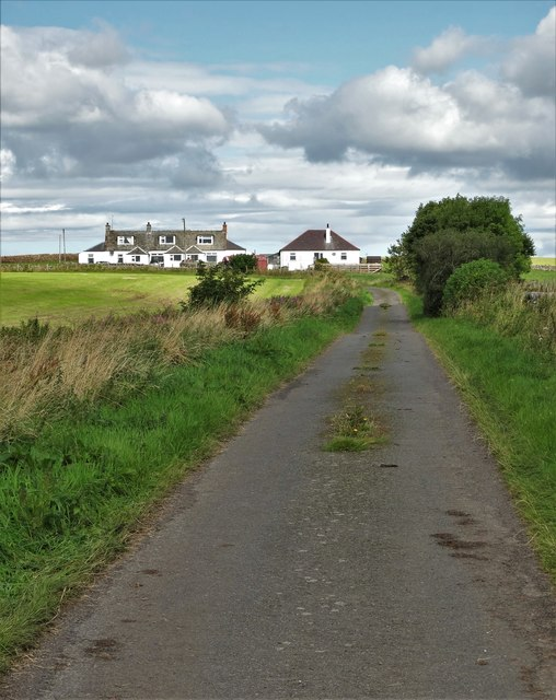View to Overton Cottages