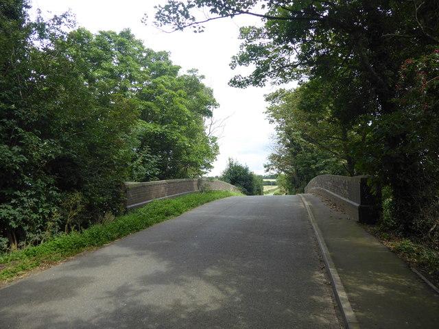 Bridge over a former railway