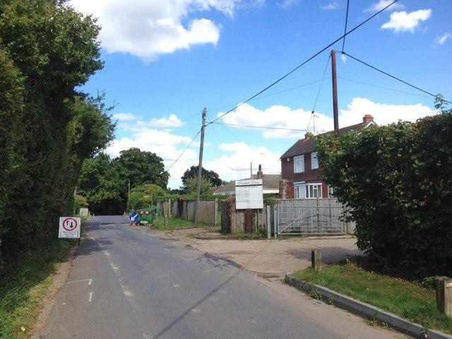 Clapper Lane, near Staplehurst