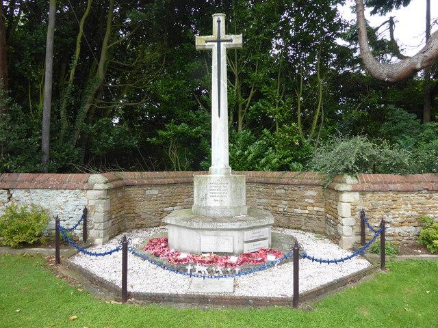 Caythorpe War Memorial