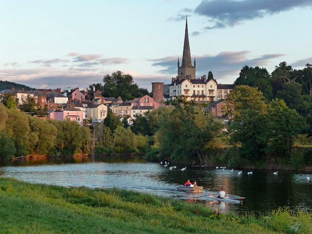 View of Ross-on-Wye